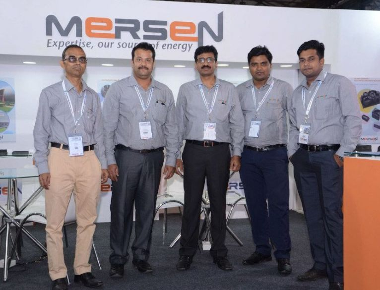 Mersen was present at Die & Mould India 2018