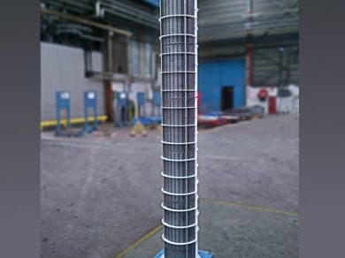 SiC block heat exchanger Mersen