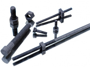 Mersen C/C composite fasteners, screws, nuts